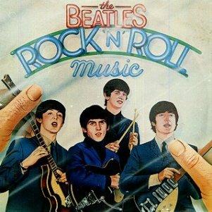 Portada del álbum doble Rock 'n' Roll Music