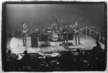 11 de febrero de 1964. The Beatles en el  Washington Coliseum